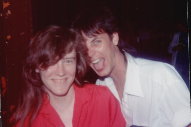 Cathy Abernathy and JoJo Rickles