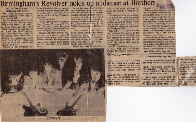 Revolver review 20nov1986