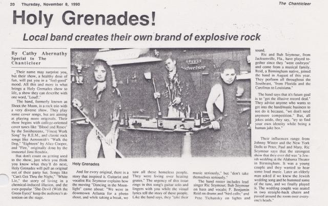 Holy Grenades