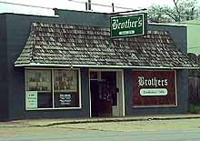 Brother's - store front